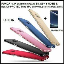 Funda Samsung Galaxy S8 S9 S8+ S9+ Note 8 9 alta calidad y protector pantalla