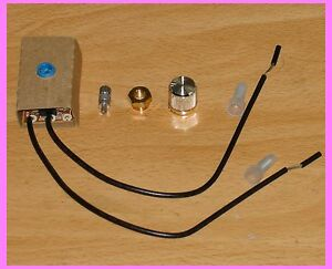 ZE-03B (Separate) Lamp Rotary Dimmer Switch 300W 120V Replacement / Repair Kit