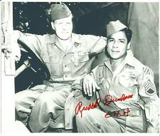 Russell Dunham WW2 Medal Of Honor Autographed 8x10 Picture