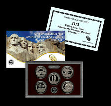 2013 S America the Beautiful National Parks Clad Proof Set in Original Mint Box