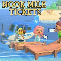 Animal Crossing: New Horizons  400 Nook Miles Tickets