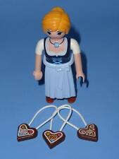 Playmobil Bayrisch Lebkuchen Keks Verkäufer - Serie 11 Weiblich Figur Neu 9147