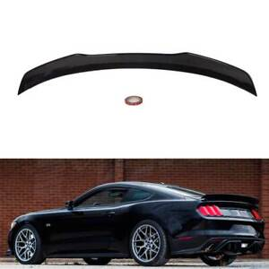 RTR Style ABS Rear Trunk Boot Lip Wing Spoiler for Ford Mustang FM FN 2014-2020