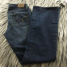 American Eagle Women's Jeans - Stretch Skinny Flare - Size 2 Petite