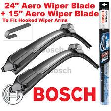 """Bosch Aerotwin 24"""" Pulgadas & 15"""" de pulgada par frontal Limpiaparabrisas Cuchillas"""