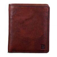 Bodenschatz Herren Leder Geldbörse Geldbeutel Portemonnaie Cognac RFID 8-250-006