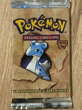 Unlimited 1999 Fossil Factory Sealed Pokemon Booster Box Pack Artwork Design 1