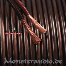 Audio System 100m 2x 2,5mm² OFC Lautsprecherkabel Kupfer Kabel 2,5qmm Boxenkabel