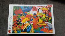 Trefl 500 Piece Jigsaw Puzzle. Multi-coloured Birds Of Paradise. Brand New.