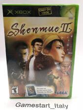 SHENMUE 2 II - XBOX - VIDEOGIOCO NUOVO SIGILLATO - NEW SEALED NTSC VERSION