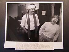 Glossy Press Photo 1991 Framingham Grace Church Bobby Chaney & Nancy Turner