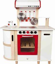 Hape E8018 Countertop Style Design Multi Function Pretend Play Kitchen For Kids