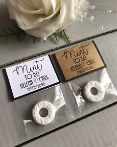 Wedding Favours Mint To Be DIY Kit