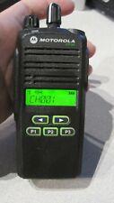 Motorola Cp185 Two Way Radio Uhf 435 480mhz 16 Ch 4watt Aah03rdf8aa7an