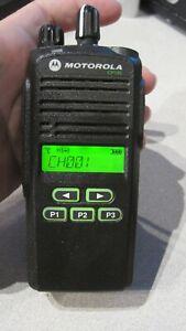 Motorola CP185 Two Way Radio UHF 435-480mhz 16 Ch 4Watt AAH03RDF8AA7AN