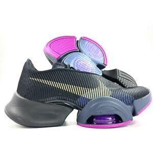 W Nike Air Zoom Superrep 2 Black Cyber Red Plum Purple CU5925-010 Women's 8