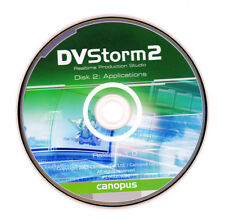Canopus DVStorm 2 PC Drivers & Application Recovery Discs