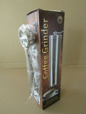 HAND COFFEE GRINDER STAINLESS STEEL MONSITER ADJUSTABLE WITH MEASURING SPOON