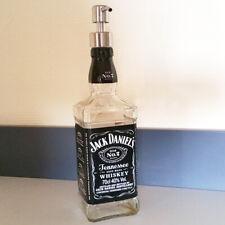 Seifenspender Aufsatz Edelstahl für Jack Daniels Flaschen inkl. 25cm Schlauch