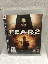 F.E.A.R.2 PROJECT ORIGIN JEUX PS3 AVEC NOTICE PLAYSTATION