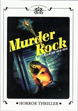 Murder Rock , Dancing Death , 100% uncut , Dvd Region2 , new & sealed