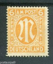 ALLEMAGNE BIZONE, 1945-46, timbre 5b, DENTELE 14, OCCUPATION, neuf (*)