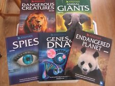Set of 5 Kingfisher Books Taking You To The Heart of The Subject P/B