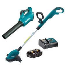 Makita DUB184Z/DUR181Z/T-03838 18V Trimmer & Blower 3.0Ah Combo Kit
