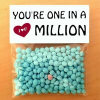 THANK YOU GIFT CARD MUM DAD NURSE TEACHER One in a million personalised