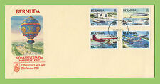 Aviation First Day Cover Bermudian Stamps