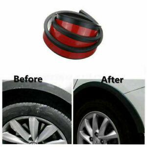 1Pcs Rubber Pad Car Wheel Arch Trim Fender Flare Wheel Eyebrow Protector Strip