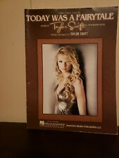 Taylor Swift Today Was A Fairytale Piano Vocal Guitar Hal Leonard Sheet Music