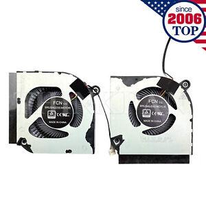 CPU+GPU Cooling Fan for Acer AN517-52 45 AN515-55 AN517-41 PH315-53 PH317-54