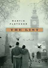 The List by Martin Fletcher (2011, Hardcover) BRAND NEW UNREAD