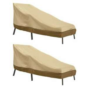 Veranda Patio Chaise Lounge Cover (2-Pack)