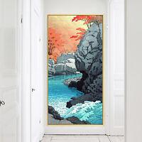 Pirate Ship Treasure World Map Vintage Silk Canvas Poster Art Paint Decor 43A