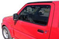 Suzuki JIMNY FJ  3 Door 1998-2018 Front wind deflectors 2pc set TINTED HEKO