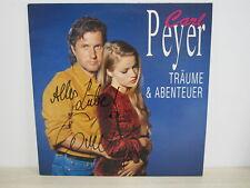 LP /  Carl Peyer – Träume Und Abenteuer / MIT ORIG. AUTOGRAMM / RARITÄT /