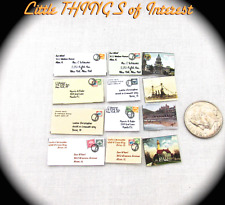 1:6 Scale MAIL POSTCARDS ENVELOPES Barbie Playscale