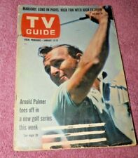 Arnold Palmer, Rose Marie - TV Guide Magazine 1963
