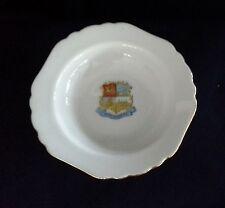 vintage BUNDABERG QLD souvenir pin dish IBC Royal Scenic China Germany vgvc