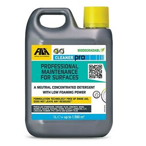 FILA CLEANER PRO concentrated pH Neutral ALL Surface Detergent Cleaner 1 Litre