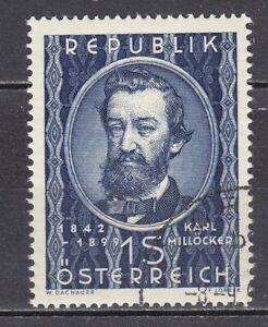 AUSTRIA used 1949 SC# Nr 562 Karl Millocker - Composer