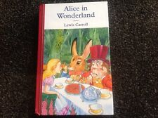 Alice in Wonderland by Lewis Carroll Beautiful hardcover illustrated classic