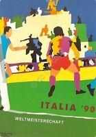 Cartolina Calcio Italia 90 Firenze Stadio Comunale Gruppo A