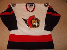 Vtg-1990s Ottawa Senators Ccm Nhl Hockey Jersey