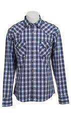 Wrangler Plaids & Checks Regular L Casual Shirts for Men