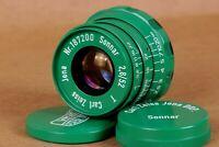 ⭐ Sonnar ⭐ Carl Zeiss Jena 2.8/52mm M39 lens for Zorki Leica Fed ( copy )