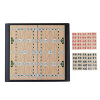 Set of Chinese Military Chess Pieces Set Board Game for Family Entertainment