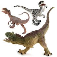 Jurassic Velociraptor Toy Figure Realistic Dinosaur Model Kids Birthday Gift